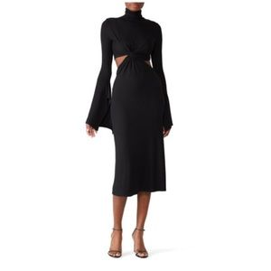 Sid neigum Classic Twist Cutout Dress